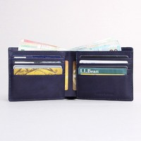 Italian mens wallet leather genuine