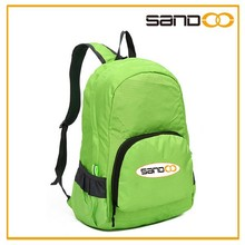 2015 Latest Arrival Fashion Brand Backpack bag, Foldable Promotion Waterproof Backpack