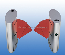 Security Flap Barrier Turnstiles Access Control System