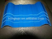 high quality and strength low price /rate/ cost apvc colored plastic corrugated roof sheet/panel/board