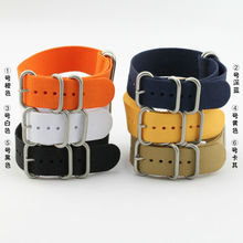 various color good quality sport fabric nato nylon watch band