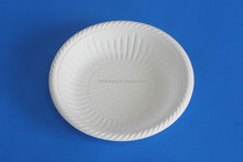 Eco friendly biodegradable plastic plate