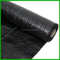 anti-UV black pp straw bed mat mulch