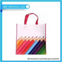 Promotional Cheap Custom Eco-friendly Recyclable Shopping PP Non Woven laminated Bag
