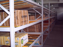 Warehouse assembly line quick and convenient flow rack