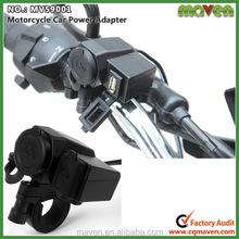 Waterproof Integration 12V Motorcycle Cigarette Lighter Socket 5V USB Power Charge Port MV59001
