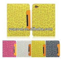Leopard Book Leather Case Cover Pouch Stand For Samsung Galaxy Tab 2 7.0 Tablet P3100