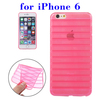 In Stock Stripes Design TPU Cover Case for iPhone 6 Made in China