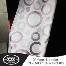 Brilliant quality circle pattern jacquard style office curtain and blind