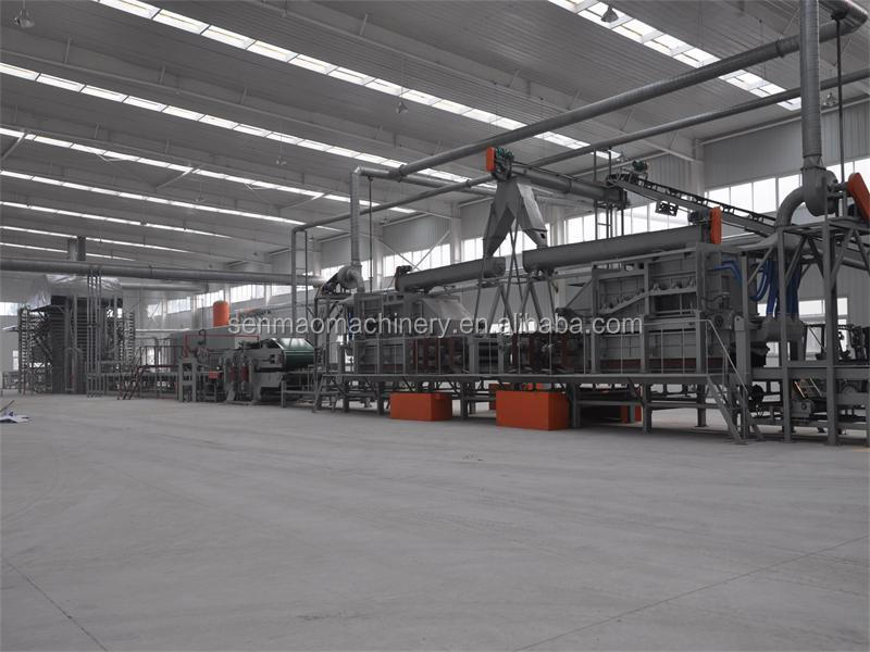 Particle board manufacturing plant osb production line