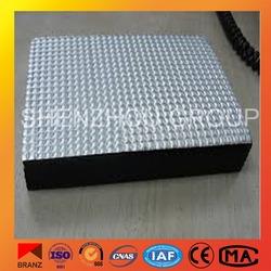 Nitrile rubber foam insulation sheet, aluminum foil covered NBR insulation