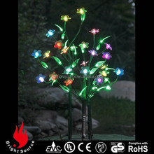 Garden Fashion and high transparent mini led flower tree light