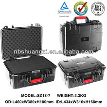 water resistance plastic case for electronic equipment