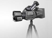 Protruly cámara de vídeo profesional en HD noche disparo de escena