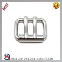 20mm Silver Roller Double Pin Belt Buckle