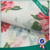 China wholesale 2015 new Design Flower printed polyester chiffon fabric