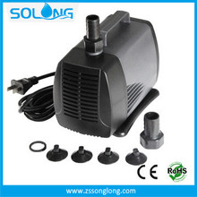 2014 Hot sell 4500 L/H hollow decoration house inside fountain pump