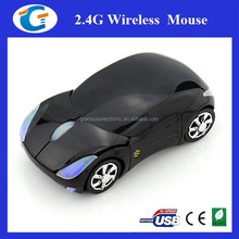 Corporate Gifts Cool Design Car Shaped 2.4Ghz Wireless Mouse
