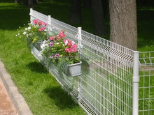 Fence factory hot sale Welded house fence and gates/pvc coated metal fence