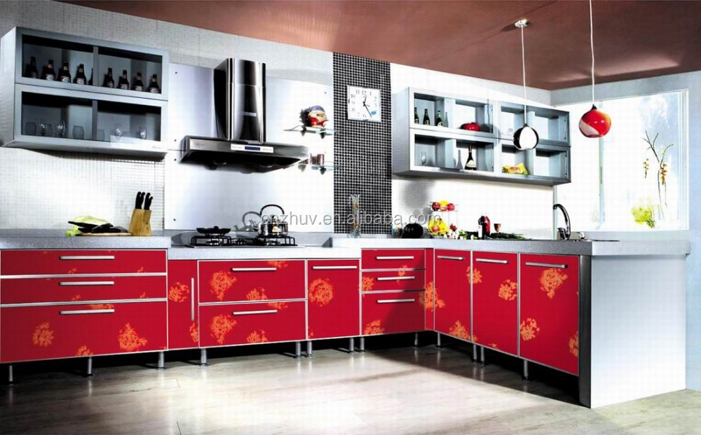 self assemble mdf kitchen cabinets with quartz stone