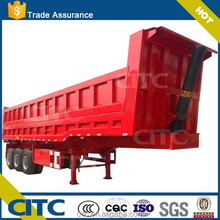 CITC dump truck for sale / three axles of heavy duty leaf spring suspension / high quality on attractive price