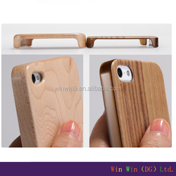 hottest selling custom design engraved wood case for iphone 4,whole wooden phone case
