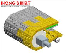 Pitch 50.8mm modular conveyor belt HS- 1600D plastic conveyor belt in China