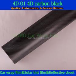 Beautiful car decoration 1.52*30m 4d carbon fiber sticker