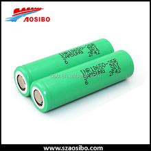 18650 2500mah 25r samsung Lithium battery cell 18650 samsung inr18650-25r pk Aosibo 18650 60amp battery