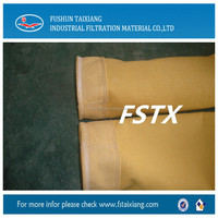 High Temperature P84 filter Bag for High Discharge Concentration Industries