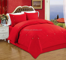 satin 50% Cotton 50% polyester Satin products quilt cover