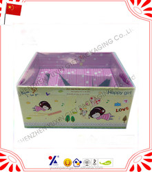 customized paper corrugated / packaging box with paper insert and lock for any products