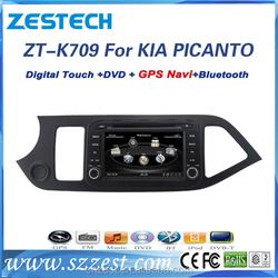touch screen for kia picanto car radio with bluetooth dvd gps radio entertainment