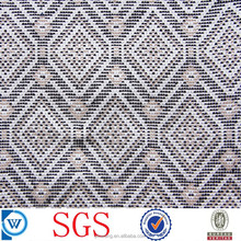 digital pattern polyester yarn dyed woven jacquard for garment