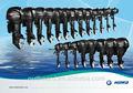 De calidad superior 2.5hp 60hp a motor fuera de borda/motor barco hidea a partir de la fábrica