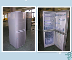 168L 5.93 Cu.ft Solar powered vertical refrigerator kit with solar panels&charge&batteries