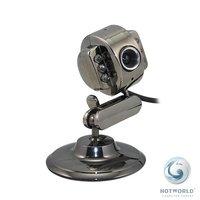 Black Metallic Free Driver USB Webcam