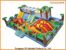 outdoor kids inflated castle combo fun city