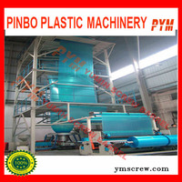 Cheap Plastic Film Extrusion Machine