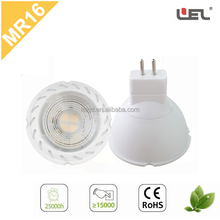led cob bulb lights with MR16 base passed by ce rohs certificate