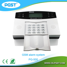Home use auto dial mobile call gsm alarm system wireless , PG-500