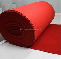 100% polyester plain nonwoven carpet rug