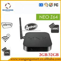 Android tv box full hd media player 1080p MINIX NEO Z64 2GB/32GB Android quad core tv box 4k