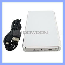 "2.5"" HDD SATA External Hard Drive 500GB Silver"