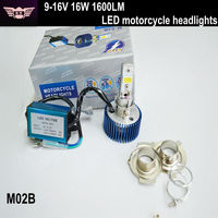 Factory price 9-15V 16W LED Headlight kit, led conversion kit for motorcycle, Motorcycle led lights