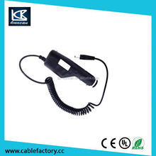 Tablet car adaptor 9v 2a car charger with ce/rohs/fcc certificate