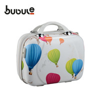 """Colorful balloon print plastic beauty & cosmetic cases light weight vanity box compact cosmetic case PCL004-14"""""""