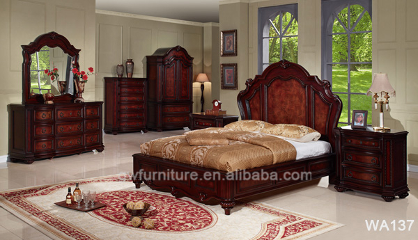 Bedroom Furniture Prices Luxury Solid Wood King Size Bedroom Set