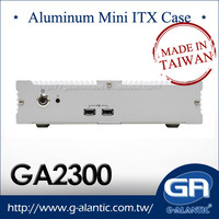 Aluminum Alloy Desktop Computer Case GA2300 For HTPC