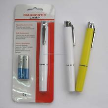plastic doctor pen torch light pen flashlight pen light